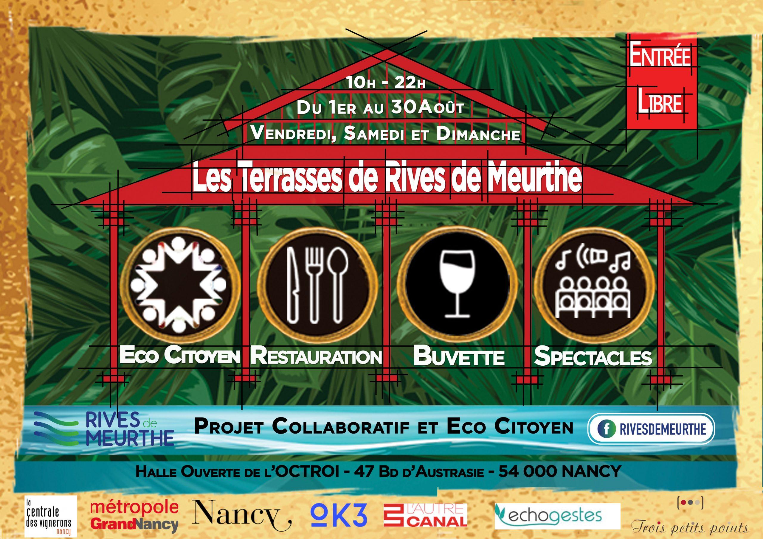 Les Terrasses de Rives de Meurthe… dernier week-end !