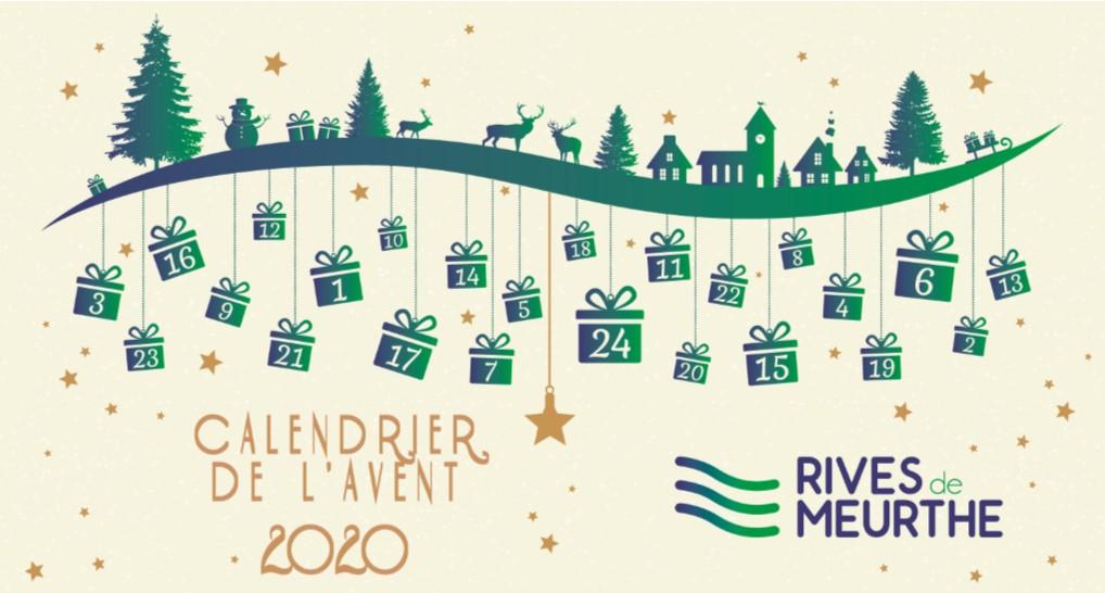 Calendrier de l'Avent Rives de Meurthe 2020